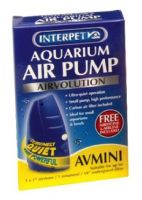 Interpet Airvolution AV MINI Aquarium Fish Tank Air Pump